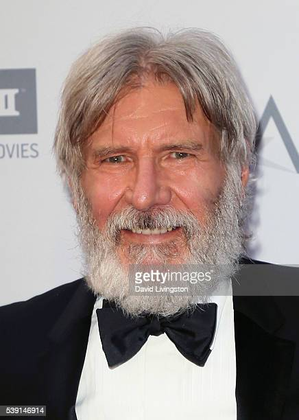 Actor Harrison Ford attends the AFI Life Achievement Awards A Tribute to John Williams at the Dolby Theatre on June 9 2016 in Hollywood California