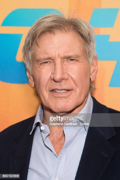 """Actor Harrison Ford attends the """"Blade Runner 2049"""" Photocall at Hotel Le Bristol on September 20, 2017 in Paris, France."""