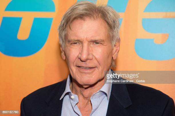 Actor Harrison Ford attends the Blade Runner 2049 Photocall at Hotel Le Bristol on September 20 2017 in Paris France