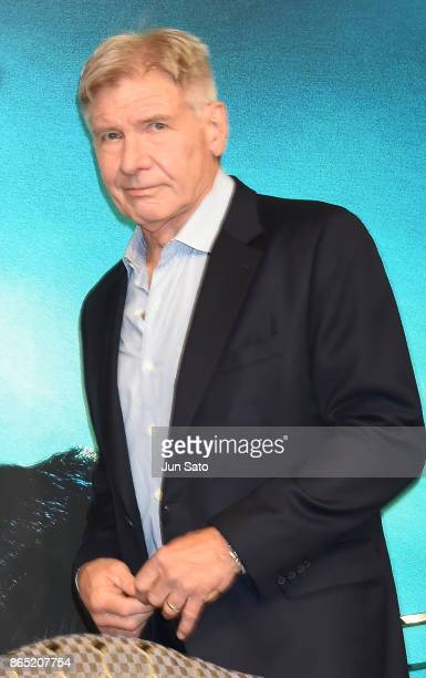 Actor Harrison Ford attends the 'Blade Runner 2049' press confrence at the Ritz-Carlton on October 23, 2017 in Tokyo, Japan.