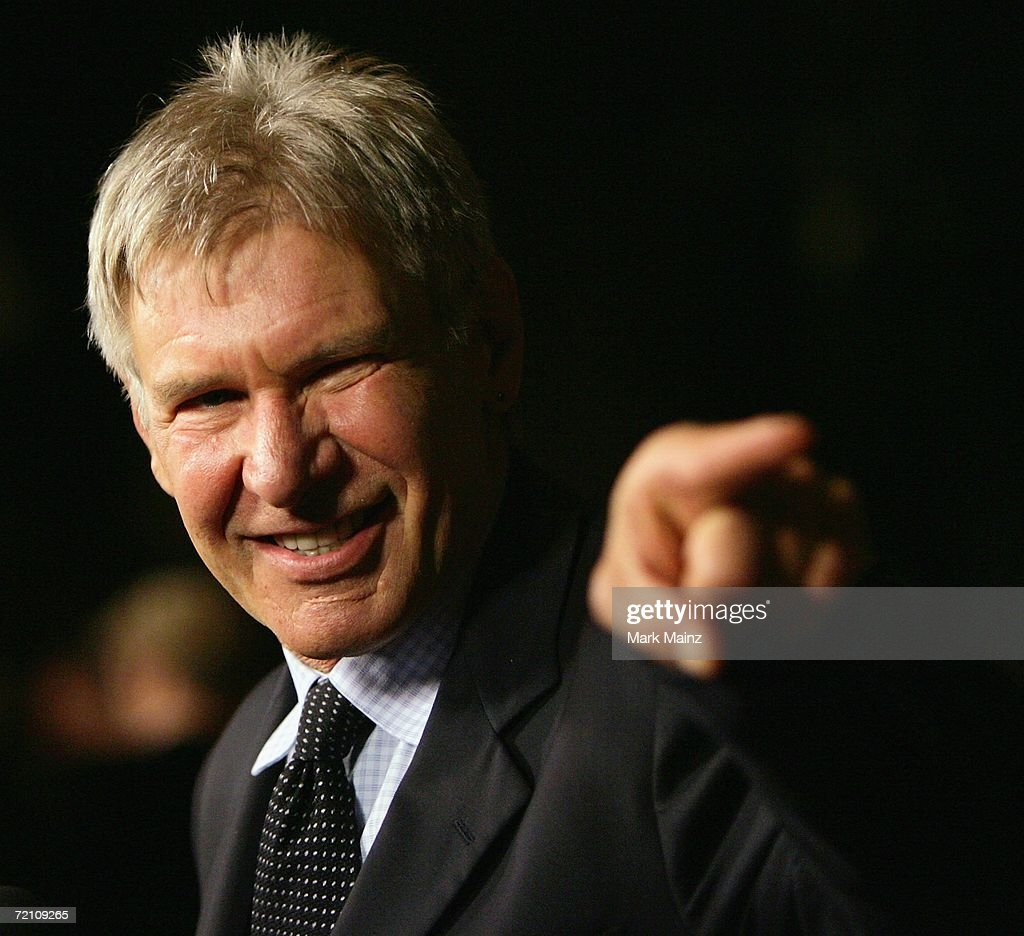 Actor Harrison Ford attends the 'Jules Verne Adventure Film Festival' on October 6, 2006 at the Shrine Auditorium in Los Angeles, California.
