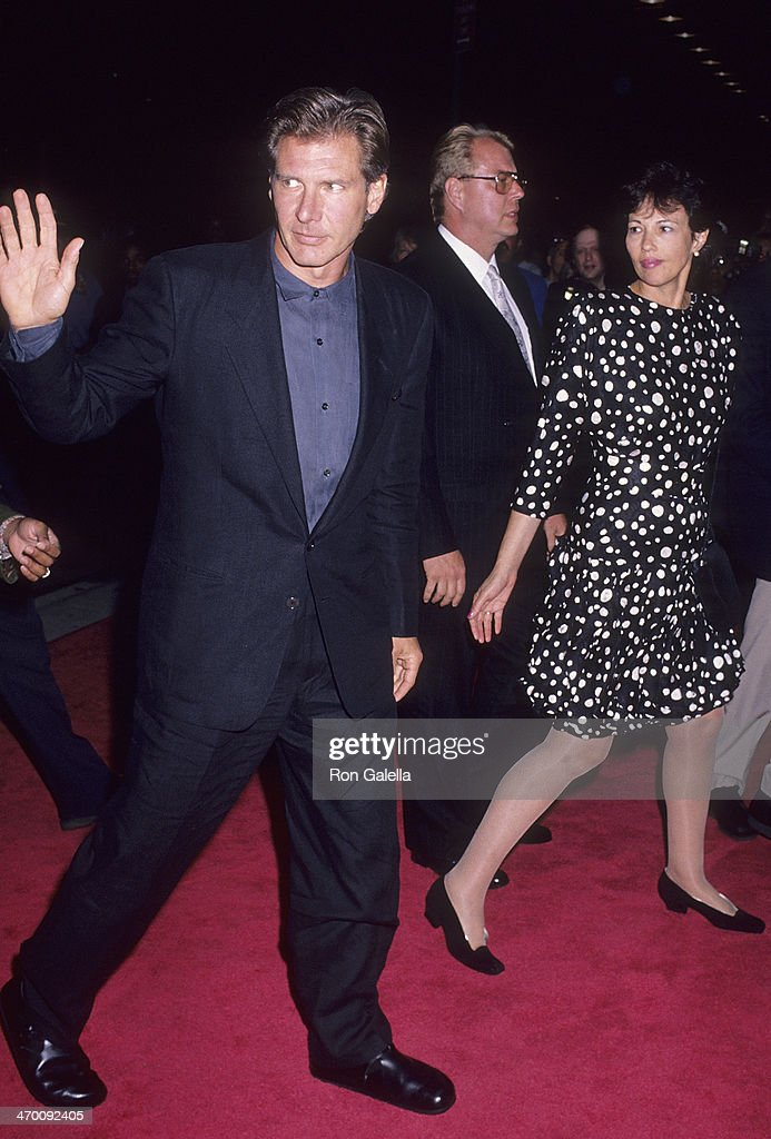 Actor Harrison Ford Attends The U0027Presumed Innocentu0027 New York City Premiere  On July 9. U0027