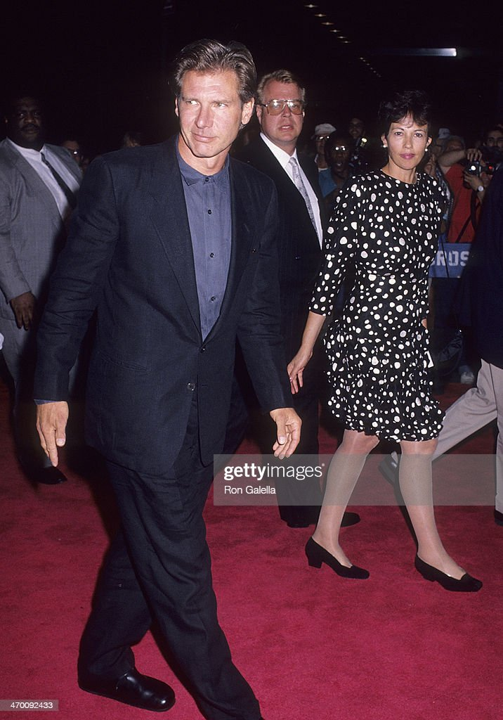 Actor Harrison Ford Attends The U0027Presumed Innocentu0027 New York City Premiere  On July 9. U0027