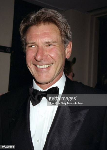 Actor Harrison Ford is on hand at Avery Fisher Hall for the Film Society of Lincoln Center's gala tribute to Mike Nichols