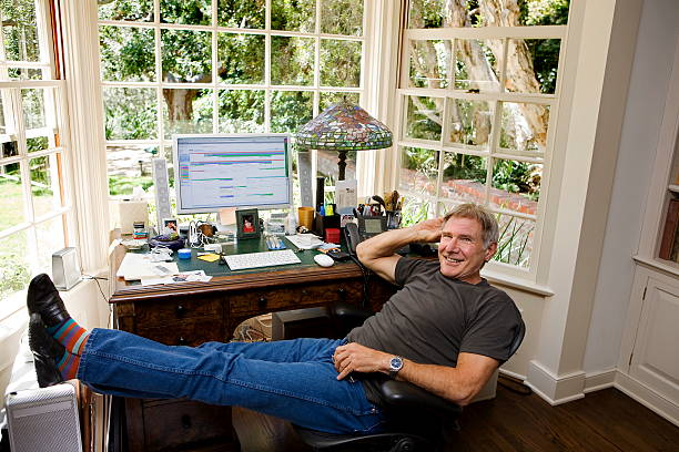 harrison ford paris match 2009 pictures getty images. Black Bedroom Furniture Sets. Home Design Ideas