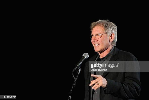 Actor Harrison Ford presenting 'Blade Runner' at Target Presents AFI's Night at the Movies at ArcLight Cinemas on April 24 2013 in Hollywood...