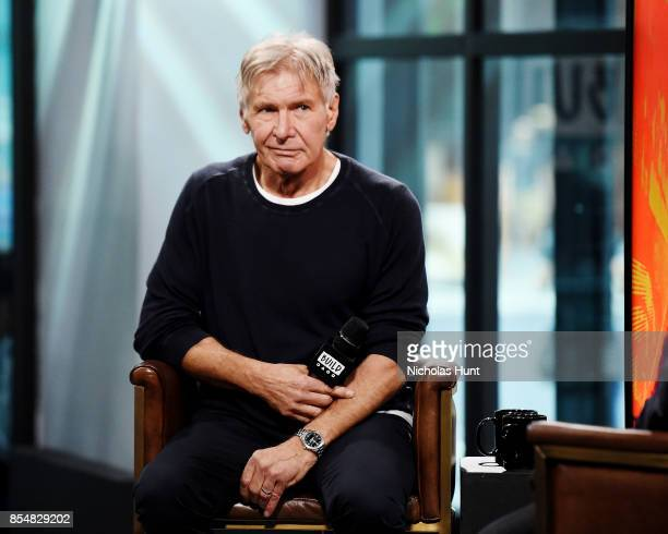 Actor Harrison Ford visits Build Series to discuss the movie Blade Runner 2049 at Build Studio on September 27 2017 in New York City