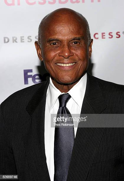 """Actor Harry Belafonte attends the Dress For Success """"April In Paris"""" annual gala at Marriott Marquis on April 19, 2005 in New York City."""