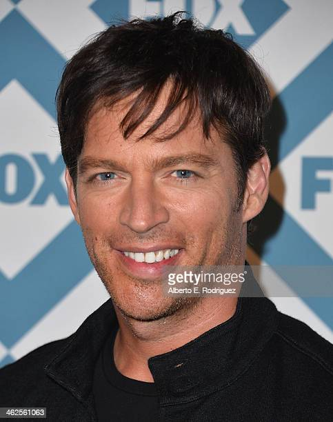 Actor Harry Connick, Jr. Arrives to the 2014 Fox All-Star Party at the Langham Hotel on January 13, 2014 in Pasadena, California.