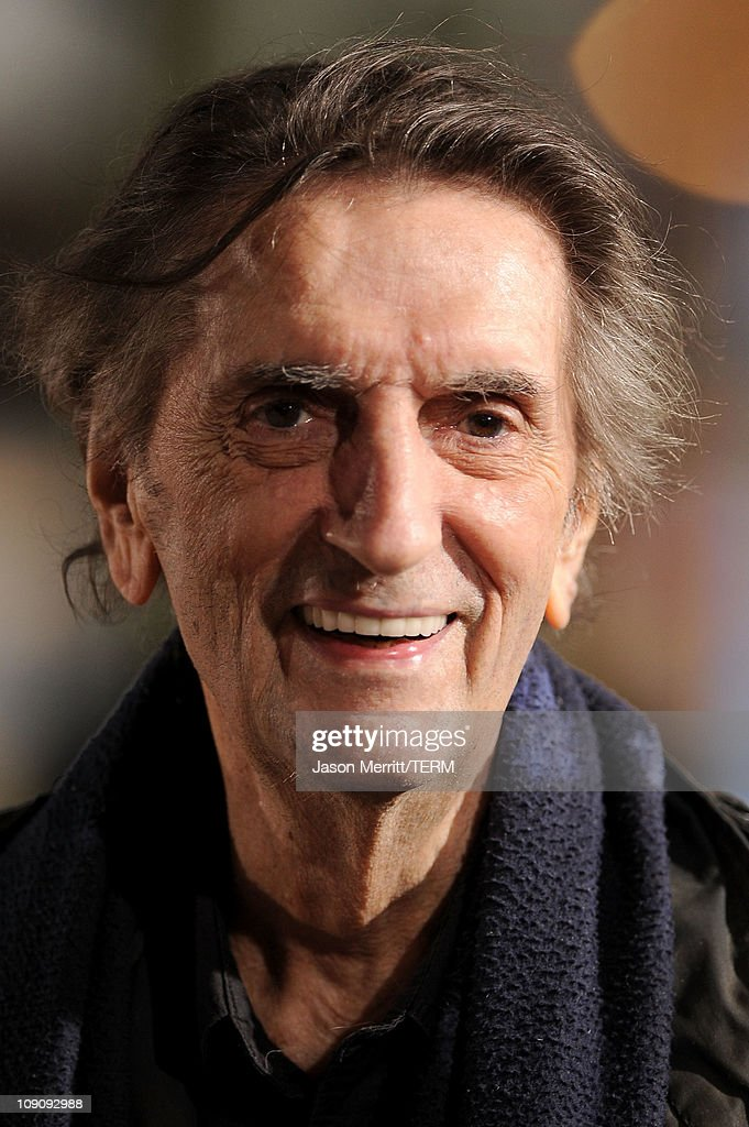 Actor Harry Dean Stanton arrives at the premiere of Paramount Pictures' 'Rango' at Regency Village Theater on February 14, 2011 in Los Angeles, California.