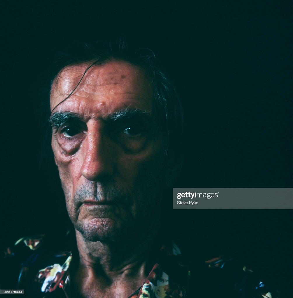 Actor Harry Dean Stanton is photographed for the Observer on October 23, 2013 in Los Angeles, California. PUBLISHED