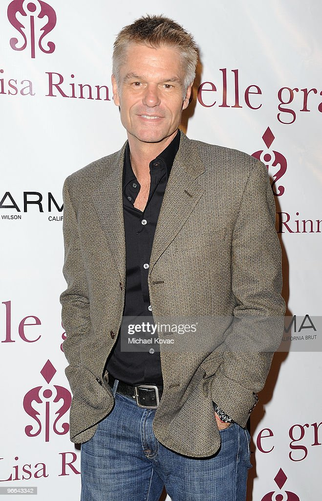 Actor Harry Hamlin arrives the 7th anniversary of Belle Gray Boutique on February 12, 2010 in Los Angeles, California.