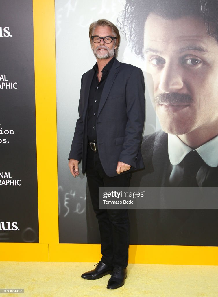 Actor Harry Hamlin attends the Los Angeles Premiere Screening of National Geographics 'Genius' the Fox Theater on April 24, 2017 in Los Angeles, California.