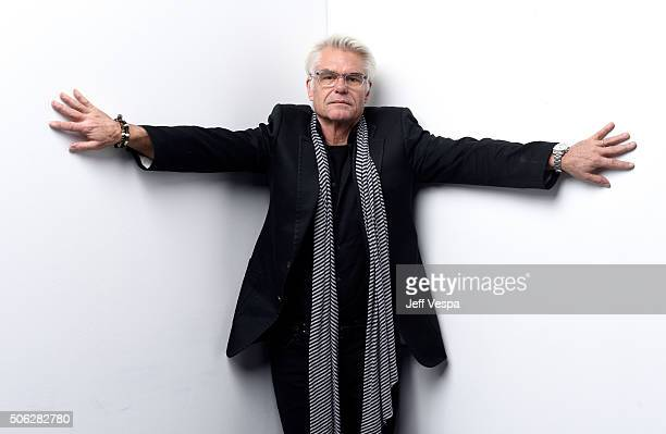 Actor Harry Hamlin from the film Director's Cut poses for a portrait during the WireImage Portrait Studio hosted by Eddie Bauer at Village at The...