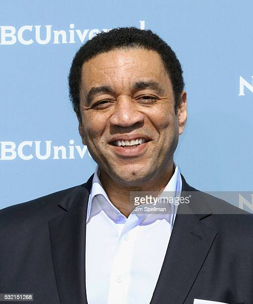 Actor Harry Lennix attends the 2016 NBCUNIVERSAL Upfront at Radio City Music Hall on May 16, 2016 in New York City.
