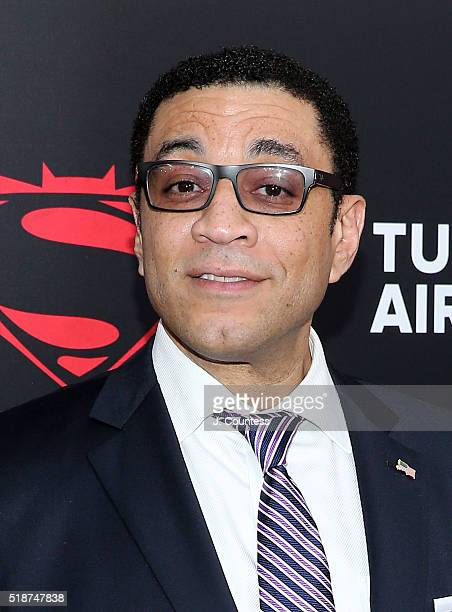"""Actor Harry Lennix attends the """"Batman V Superman: Dawn Of Justice"""" New York Premiere at Radio City Music Hall on March 20, 2016 in New York City."""