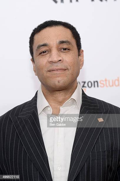 """Actor Harry Lennix attends the """"CHI-RAQ"""" New York Premiere at Ziegfeld Theater on December 1, 2015 in New York City."""