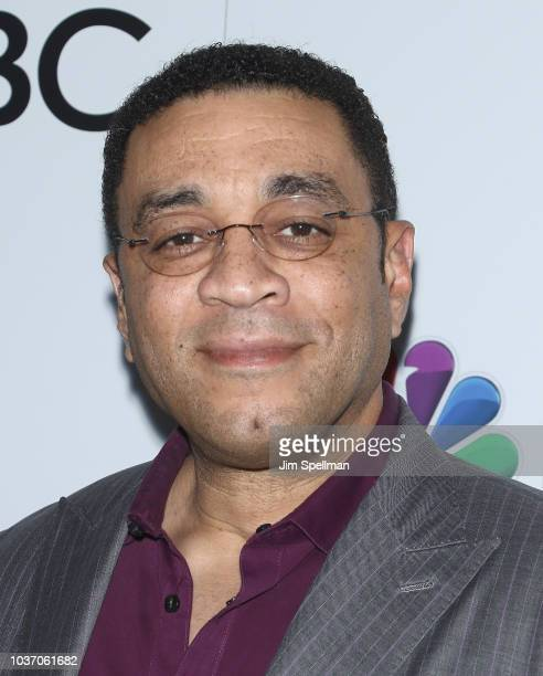 Actor Harry Lennix attends the party for the casts of NBC's 2018-2019 Season hosted by NBC and The Cinema Society at Four Seasons Restaurant on...
