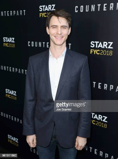 Actor Harry Lloyd attends the STARZ Counterpart Howards End FYC Event at LACMA on May 23 2018 in Los Angeles California