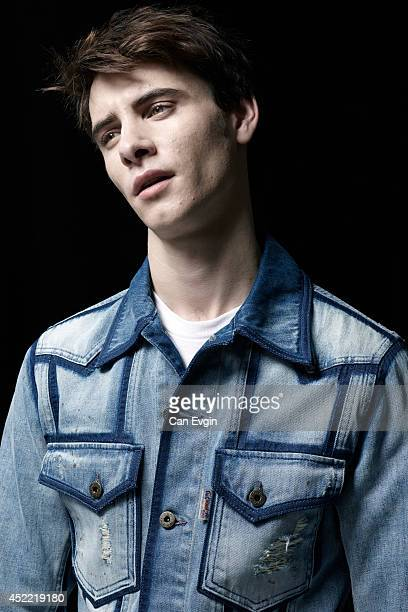 Actor Harry Lloyd is photographed for Wonderland in London England