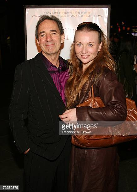 Actor Harry Shearer and his wife Judith Owen attend the For Your Consideration film premiere at the Director's Guild of America on November 13 2006...