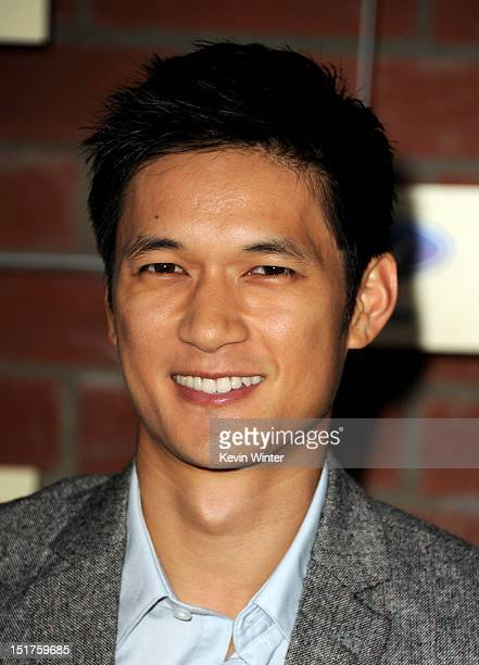 Actor Harry Shum Jr. Arrives at Fox's Fall Eco-Casino Party at The Bookbindery on September 10, 2012 in Culver City, California.