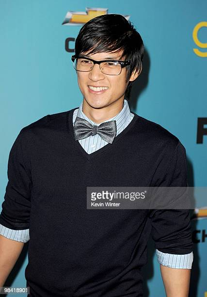"""Actor Harry Shum Jr. Arrives at Fox's """"Glee"""" spring premiere soiree held at Bar Marmont on April 12, 2010 in Los Angeles, California."""