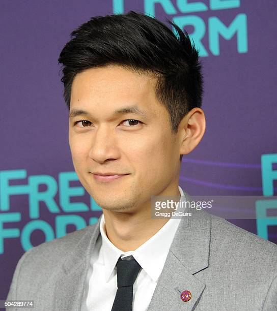 Actor Harry Shum Jr arrives at the 2016 Winter TCA Tour Disney/ABC at Langham Hotel on January 9 2016 in Pasadena California