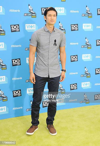 Actor Harry Shum Jr arrives at the DoSomethingorg and VH1's 2013 Do Something Awards at Avalon on July 31 2013 in Hollywood California