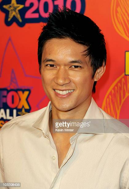 Actor Harry Shum Jr. Arrives at the FOX 2010 summer Television Critics Association all-star party held at Pacific Park on the Santa Monica Pier on...