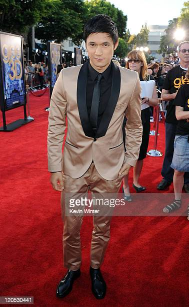 """Actor Harry Shum Jr. Arrives at the premiere of Twentieth Century Fox's """"Glee The 3D Concert Movie"""" held at the Regency Village Theater on August 6,..."""