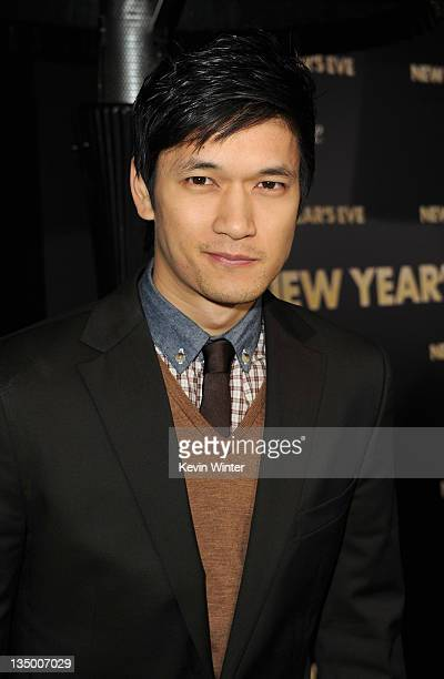 """Actor Harry Shum Jr. Arrives at the premiere of Warner Bros. Pictures' """"New Year's Eve"""" at Grauman's Chinese Theatre on December 5, 2011 in..."""