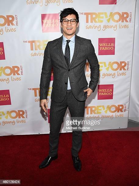 Actor Harry Shum Jr attends TrevorLIVE LA Honoring Robert Greenblatt Yahoo and Skylar Kergil for The Trevor Project at Hollywood Palladium on...