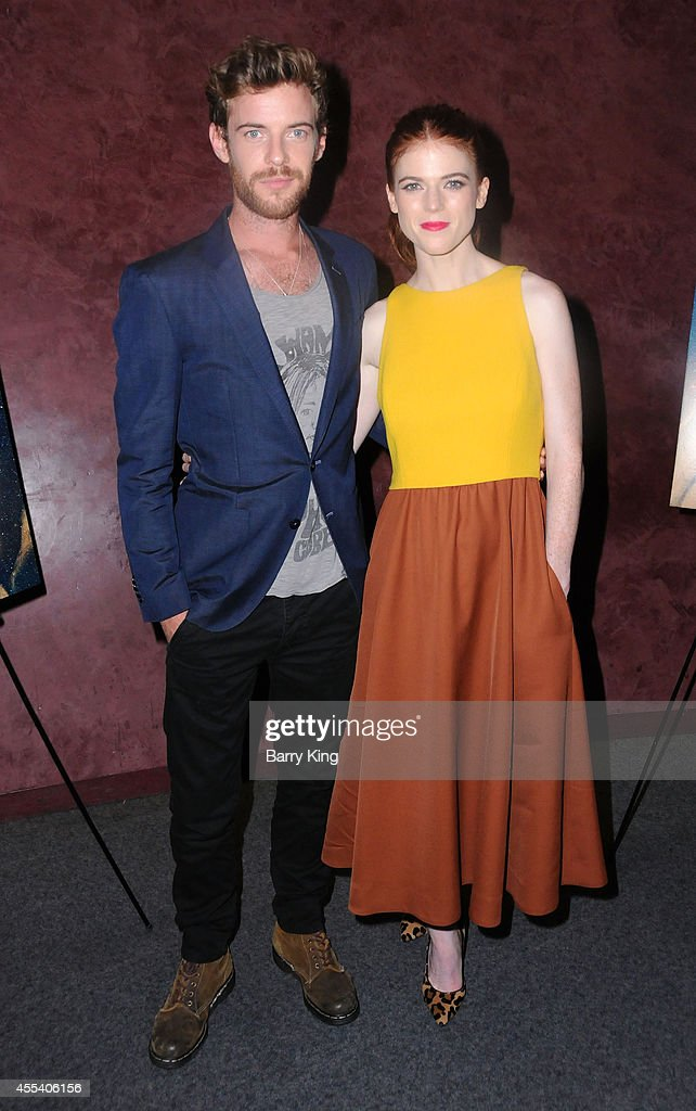 Actor Harry Treadaway and actress Rose Leslie attend the Los Angeles premiere of 'Honeymoon' at the Landmark Theater on August 26, 2014 in Los Angeles, California.