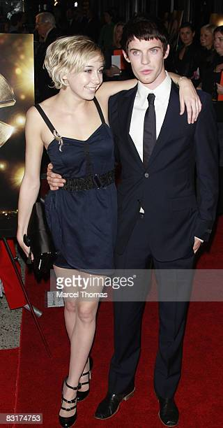 Harry Treadaway with ex-girlfriend Polly Stenham