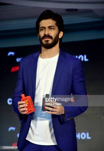 Actor Harshvardhan Kapoor launched Godrej Cinthol's all new men's grooming range 'ALIVE LOOKS FOR AWESOME MEN' at hotel Taj Lands End Bandra in Mumbai