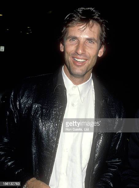 Actor Hart Bochner attends Greg Gorman's 40th Birthday Party on June 29 1989 at Tramp's Restaurant in West Hollywood California