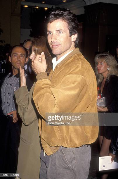 Actor Hart Bochner attends the 'Another 48 Hrs' Westwood Premiere on June 7 1990 at Mann Village Theatre in Westwood California