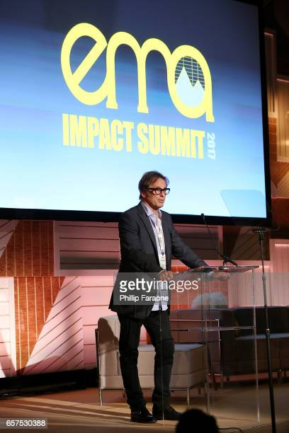 Actor Hart Bochner attends the EMA Impact Summit at Montage Beverly Hills on March 24 2017 in Beverly Hills California