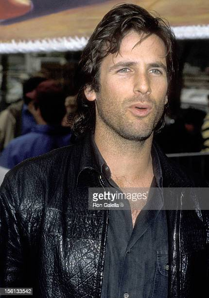 Actor Hart Bochner attends The Great Peace March Rally on March 1 1986 at City Hall in Los Angeles California