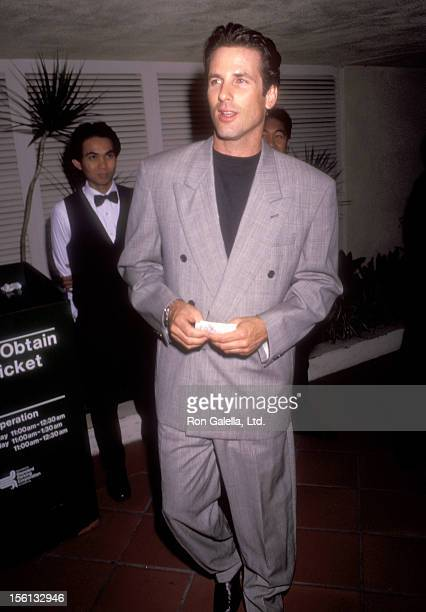 Actor Hart Bochner attends 'The Indian Runner' Century City Premiere on September 19 1991 at AMC Century 14 Theatres in Century City California