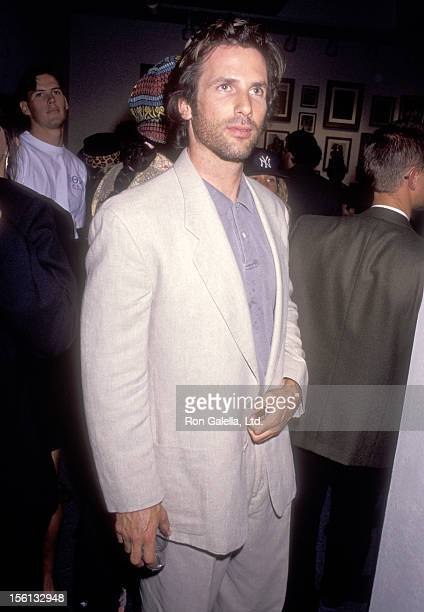 Actor Hart Bochner attends the Opening Night Exhibition of Bruce Weber's Photographs and Preview of His Photographic Documentary 'Backyard Movie' on...
