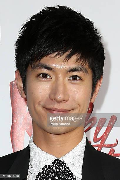 Actor Haruma Miura attends opening night of Kinky Boots at the Pantages Theatre on April 13 2016 in Hollywood California