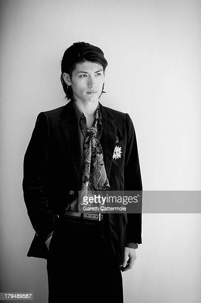 Actor Haruma Miura during a portrait session at the 70th Venice International Film Festival on September 3 2013 in Venice Italy