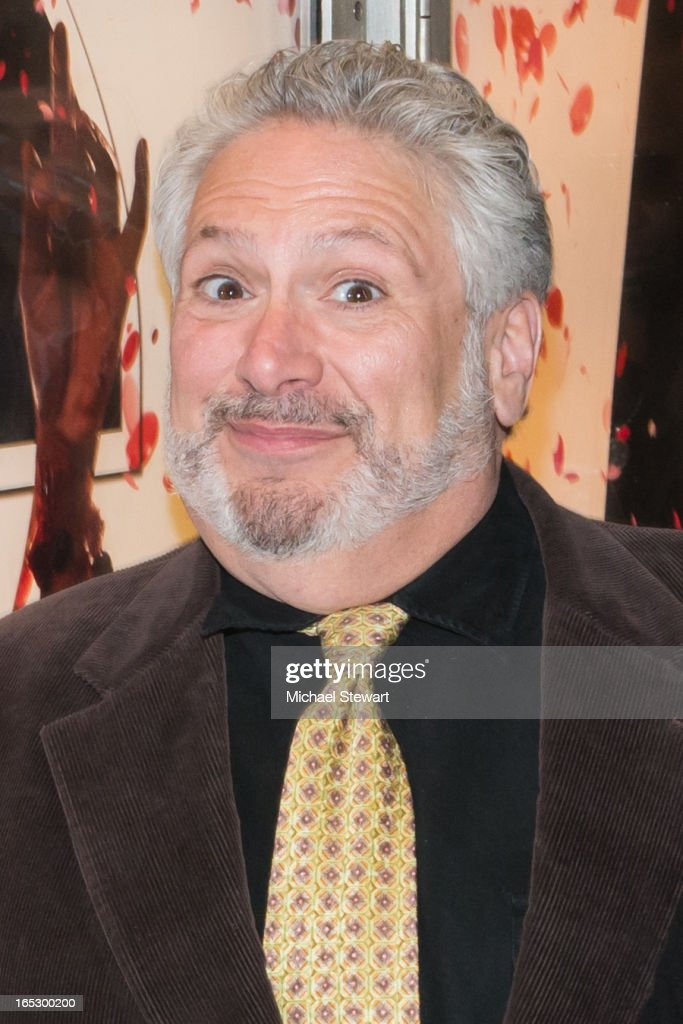 Actor Harvey Fierstein attends Broadway's 'Kinky Boots' Everybody Say Yeah Ad Unveiling in Times Square on April 2, 2013 in New York City.