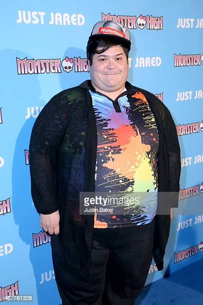 Actor Harvey Guillen attends Just Jared's Throw Back Thursday Party at Moonlight Rollerway on March 26 2015 in Glendale California