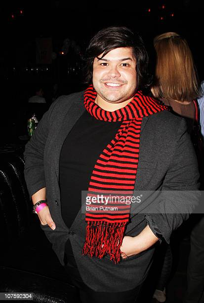 Actor Harvey Guillen attends the NOH8 Campaign 2nd Anniversary Celebration at Wonderland on December 13 2010 in Los Angeles California
