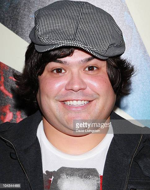 Actor Harvey Guillen attends the premiere of HBO Documentary Films' Teenage Paparazzo at the Pacific Design Center on September 21 2010 in West...