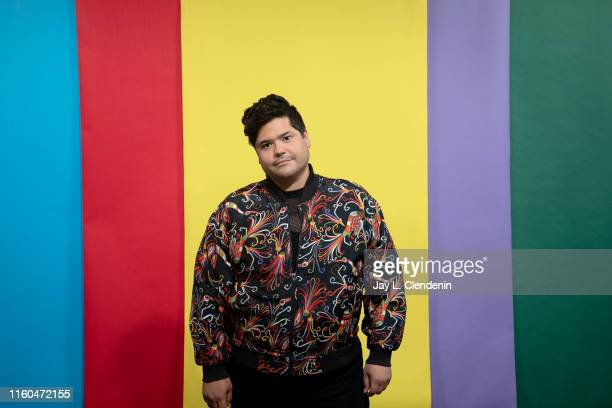 Actor Harvey Guillen of 'What We Do in the Shadows' is photographed for Los Angeles Times at ComicCon International on July 20 2019 in San Diego...
