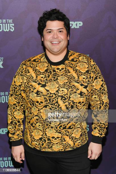 """Actor Harvey Guillén attends the """"What We Do In The Shadows"""" New York Premiere at Metrograph on March 19, 2019 in New York City."""